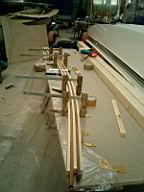 Formverleimter Decksbalken